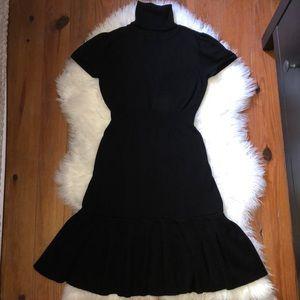 Flirty Turtleneck Dress